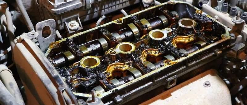 график замены масла в двигателе